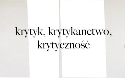 Krytycyzm